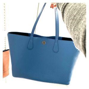 Tory Burch Large blue tote bag